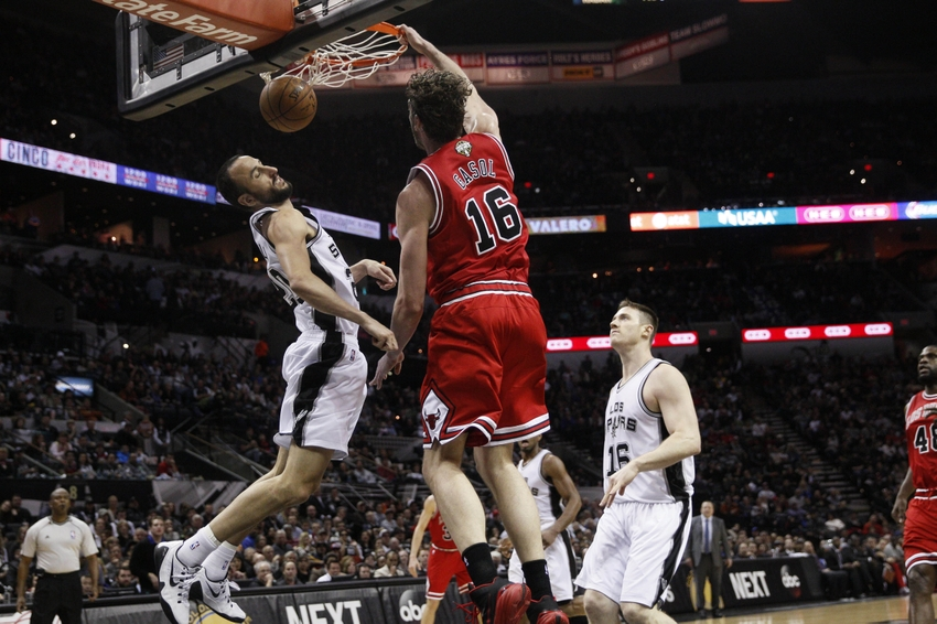 NBA: Chicago Bulls at San Antonio Spurs