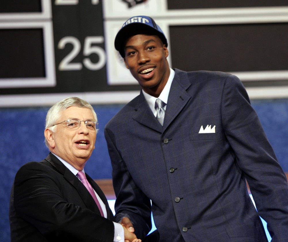 XXX NBA_DRAFT_HOWARD_RD164.JPG S BKN NY